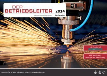 Der Betriebsleiter - JORDI PUBLIPRESS GmbH