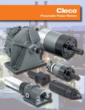 Cleco Pneumatic Power Motors SP-104 EN - Wainbee Limited