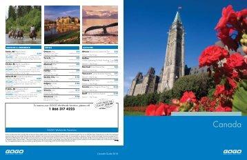 Canada - GOGO Worldwide Vacations