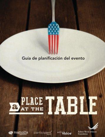 Guía de planificación del evento - TakePart