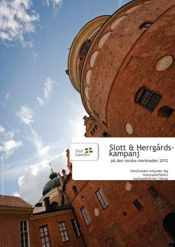 Slott & Herrgårds- kampanj - VisitSweden