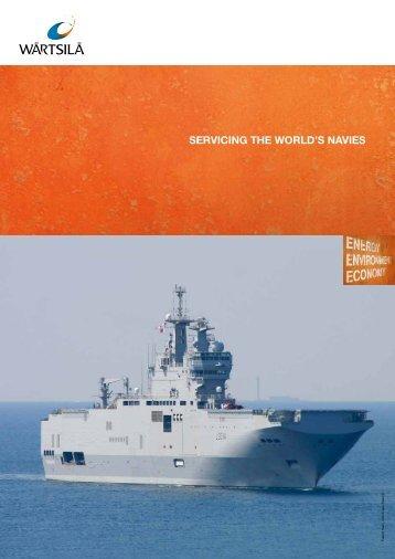 Servicing the world's navies - Wärtsilä