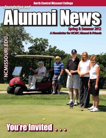 alumnews_june2012 - North Central Missouri College