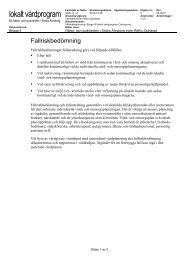 Bilaga 4 - Fallriskbedömning, 2010-12-08 (pdf) - Vgregion.se