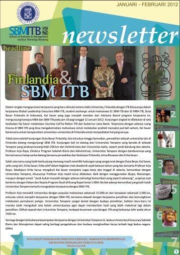 Edisi Januari – Februari 2012 - SBM ITB