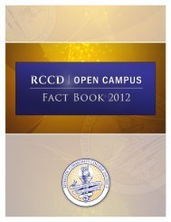 2012 FACT BOOK - Open Campus - Riverside Community College ...