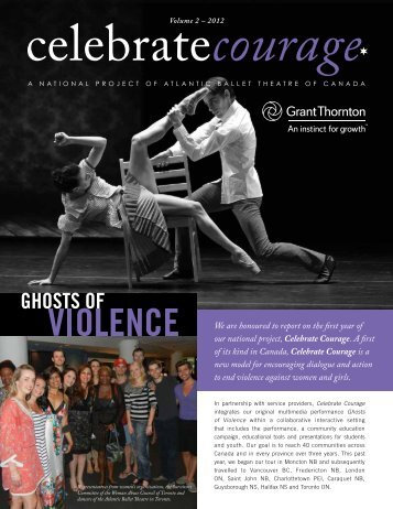 Celebrate Courage Newsletter - London Abused Women's Centre