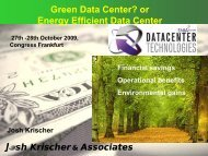 Best practices in reducing energy and costs in the data center