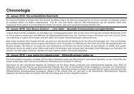 Chronologie - Don Bosco Mission