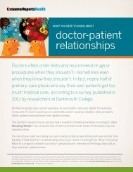 What you need to know about doctor-patient relationships