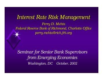IRR Management 0902 - World Bank