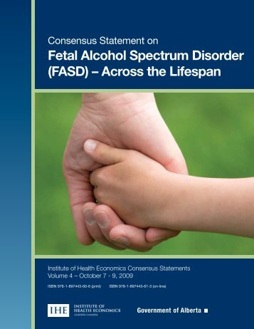 Fetal Alcohol Spectrum Disorder (FASD) – Across the Lifespan