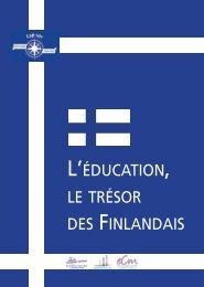 l'éducation, le trésor des finlandais - ECA - Enseignement ...