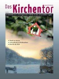 Das Kirchentor Dezember 2014 / Januar 2015