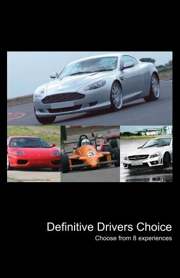 Drivers Choice - Virgin Experience Days