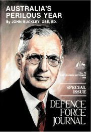 ISSUE 72 : Sep/Oct - 1988 - Australian Defence Force Journal