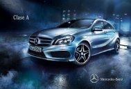 Descargar el catálogo de la Clase A (PDF) - Mercedes-Benz México