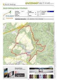Nordic Walking Nordic Walking Strecke 3 Fischbach - Zentrum ...