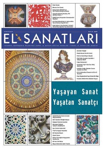 el sanatlar dergisi SON(8). - İSMEK - İstanbul Büyükşehir Belediyesi