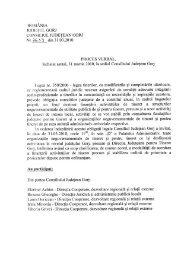 ROMÂNIA - Consiliul Judeţean Gorj