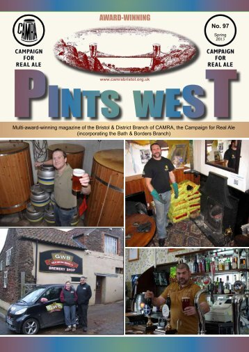 Pints West 97, Spring 2013 - Bristol & District CAMRA
