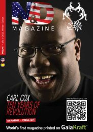 CARL COX TEN YEARS OF REVOLUTION - Nightanddaymag.com