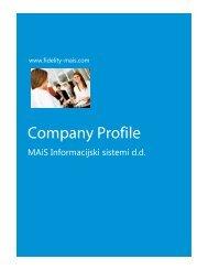 Company Profile in PDF - Fidelity