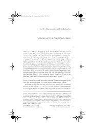 Viral V. Acharya and Matthew Richardson - NYU Stern School of ...