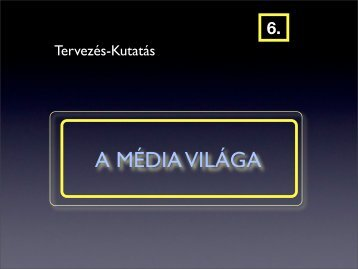 A MÉDIA VILÁGA - Sas István.hu