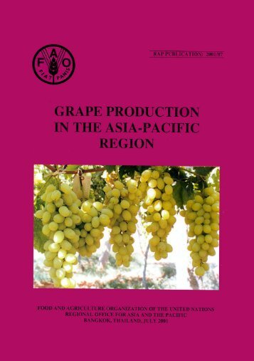 Grape Production in the Asia-Pacific Region - United Nations in ...