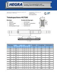 HGTS80 Deutsch_a - Hegra Linear