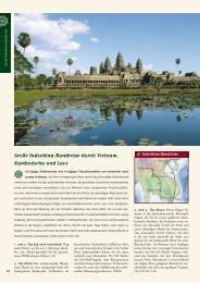 Große Indochina-Rundreise durch Vietnam, Kambodscha und Laos