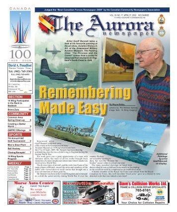 Apr 27 2009 - The Aurora Newspaper