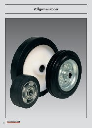 Solid rubber wheels and castors from our main ... - Räder-Vogel