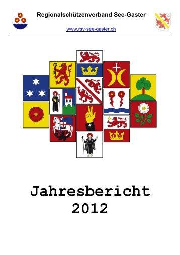 Jahresbericht 2012 - RSV See-Gaster