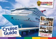 Cruise Guide - Rainbow Holiday Club