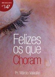 Felizes os que Choram - Lagoinha.com