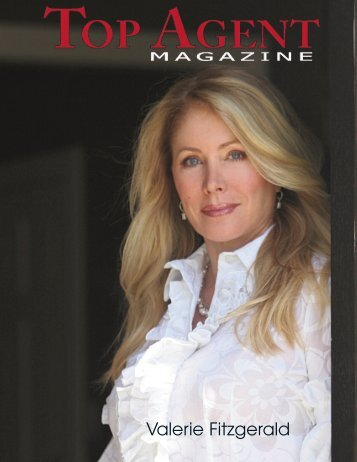 Sept Top Agent Magazine Cover with Valerie Fitzgerald