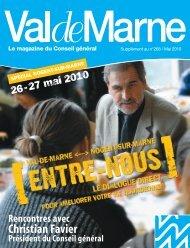 Magazine ValdeMarne spécial Nogent-sur-Marne - Conseil général ...