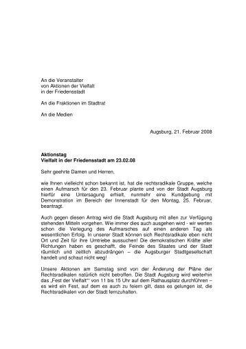 ob an veranstalter - VVN-BdA Augsburg