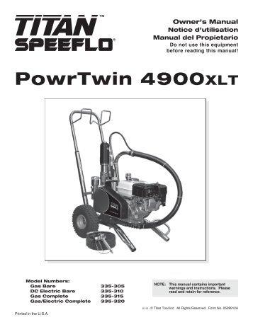 PowrTwin 4900XLT - Wagner USA [Paint Sprayers, HVLP Sprayers ...