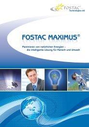 FOSTAC MAXIMUS FOSTAC MAXIMUS - Enerix