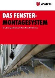 Fenstermontagesystem - Würth