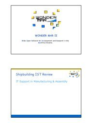 Expert Group - Manufacturing & Assembly - wondermar ii