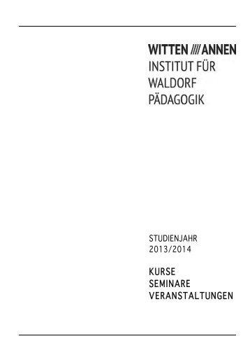Kurse, Seminare, Veranstaltungen 2013/14 - Institut für ...
