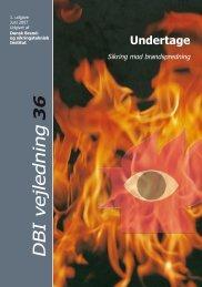 DBI Vejledning 36 Undertage - sikring mod brandspredning - BvB