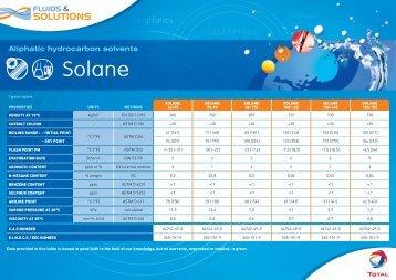 Solvants hydrocarbonés aliphatiques