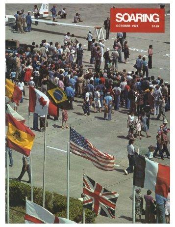 1978 World Gliding Championships - USA Soaring Team