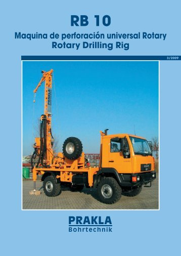 Maquina de perforación universal Rotary Rotary Drilling Rig