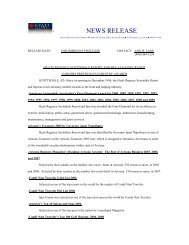NEWS RELEASE - Hyatt Hotels and Resorts